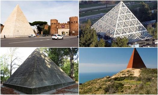 Edifici a punta? Le piramidi sono anche in Italia