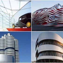 I templi delle automobili, dove l'architettura celebra la tecnologia