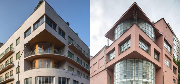 Terragni e Golosov. Le avanguardie di Como e Mosca a confronto - mostra di architettura razionalista dedicata al Novocomum e al Club Zuev