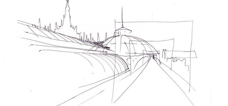 Disegnare gli spazi di Milano, in pausa pranzo! - corso di disegno per architetti con Stefan Davidovici