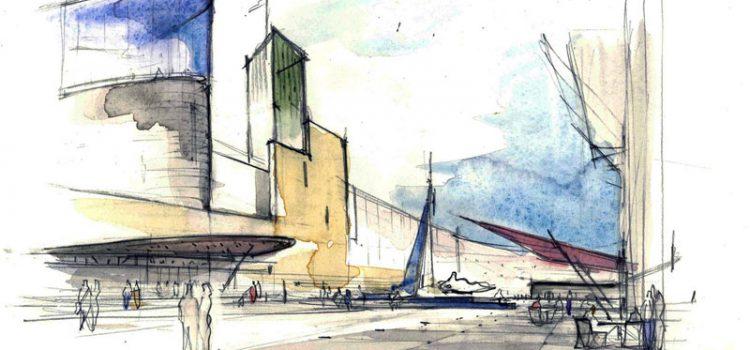 I disegni e le architetture di Andrea Ponsi. Breve storia di una lunga linea - mostra presso Casabella Laboratorio