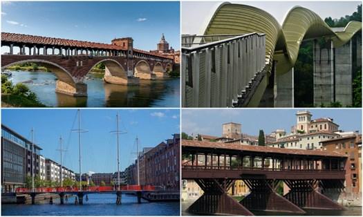 Ponti ciclopedonali, ecco i più belli in Italia e non solo