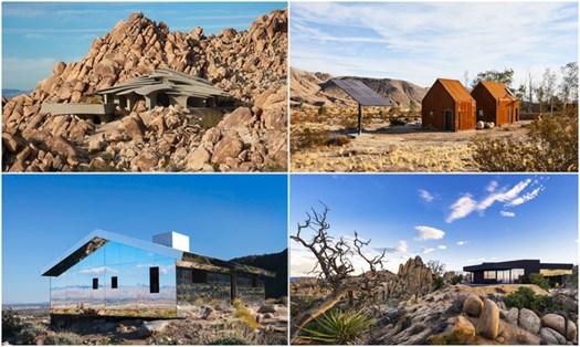 Case nel deserto, dove isolarsi tra spazi minimal e comfort